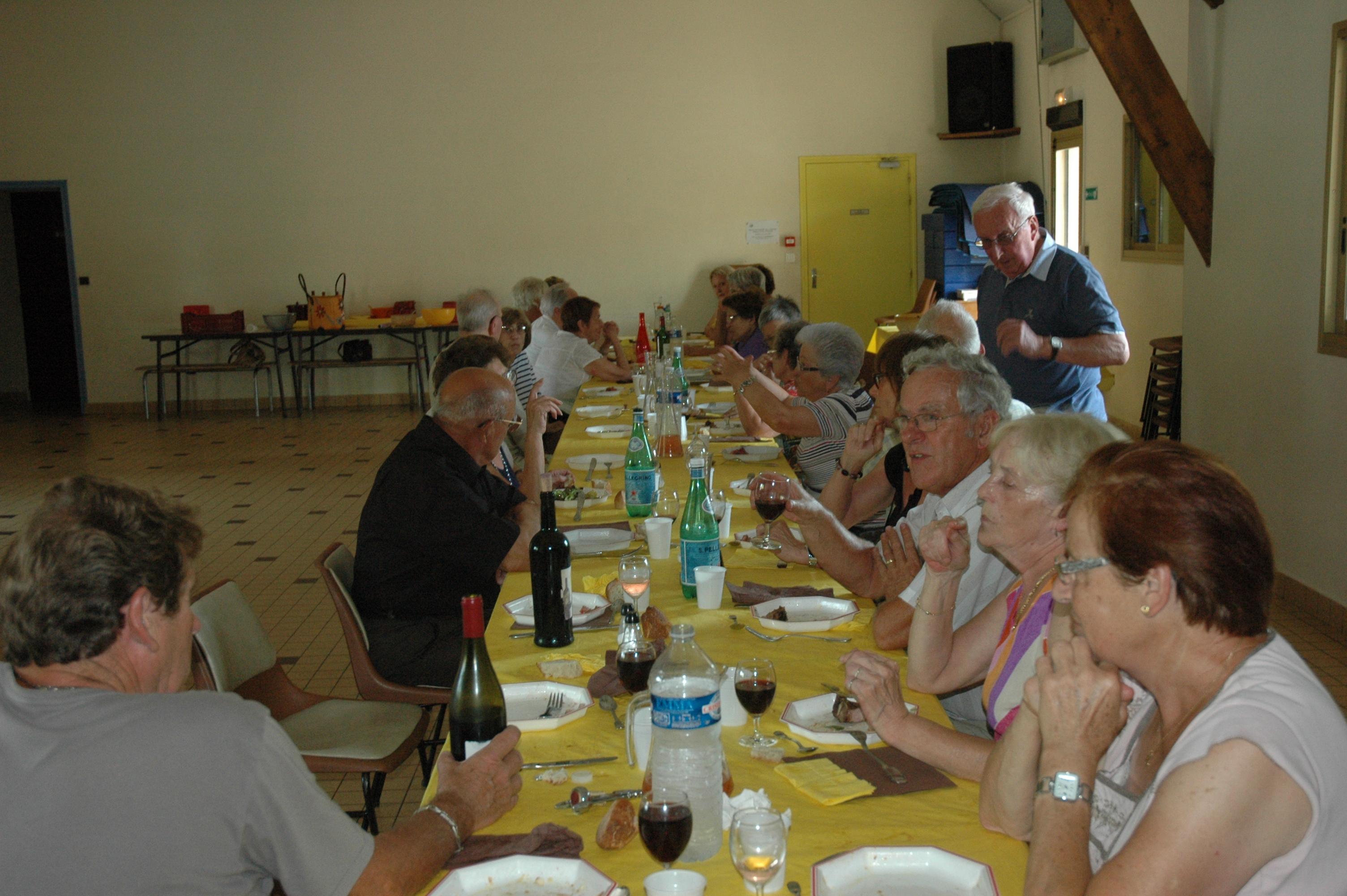 Juillet 2015 Repas club du Rosey