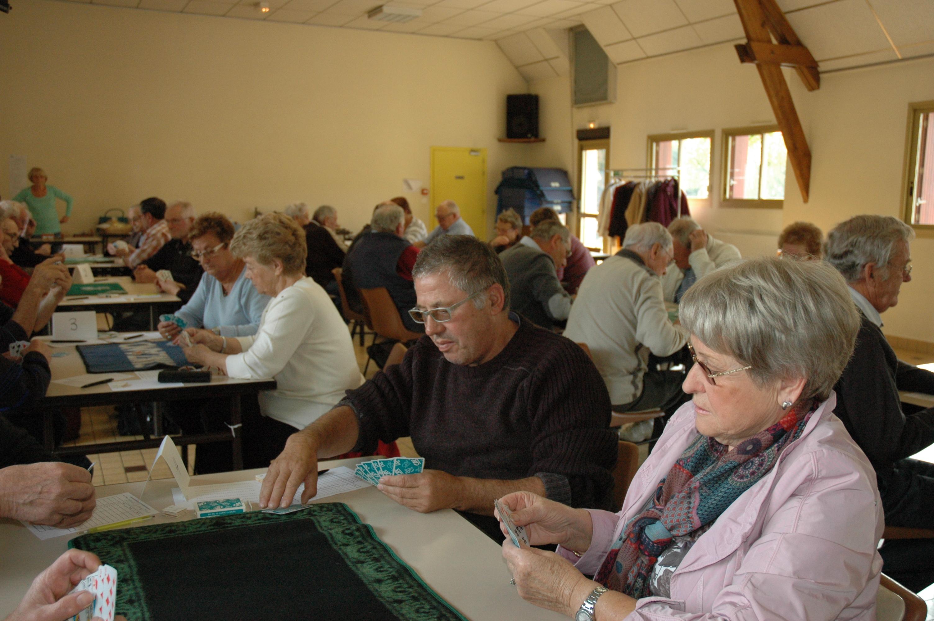 Octobre 2015 Concours belote